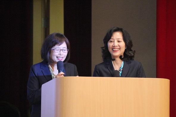 DNFBP代表王怡雯及蔡麗紅